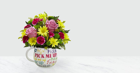 The Pick-Me-Up® Bouquet Flower Power, Florist Davenport FL